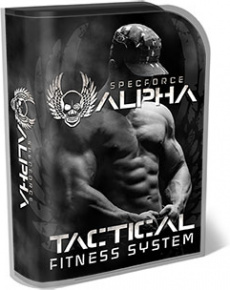 Ebook cover: SpecForce Alpha - Tactical Fitness System