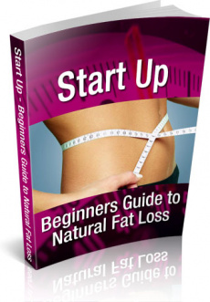 Ebook cover: Start Up – Beginners Guide to Natural Fat Loss
