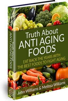 Ebook cover: The TRUTH About Anti-Aging Foods
