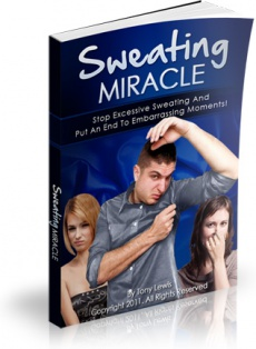 Ebook cover: Sweating Miracle