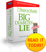 Ebook cover: The 7 Steps to Health and the Big Diabetes Lie