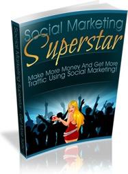 Ebook cover: Social Marketing Superstar