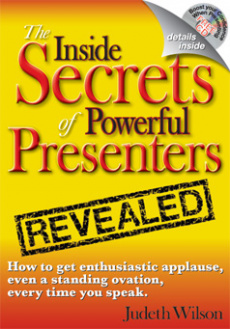 Ebook cover: The Inside Secrets Of Powerful Presenters