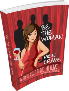 Ebook cover: Be The Woman Men Crave