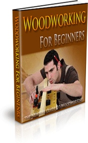 Ebook cover: Woodworking For Beginners