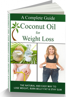 Ebook cover: Coconut Oil For Weight Loss
