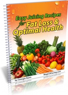 Ebook cover: 50 Easy-To-Follow Juicing Recipes