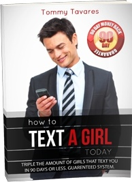 Ebook cover: How To Text A Girl Today!