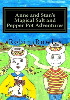 Ebook cover: Anne and Stan's Magical Salt and Pepper Pot Adventures