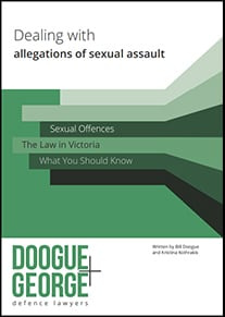 Ebook cover: Dealing With Allegations of Sexual Assault