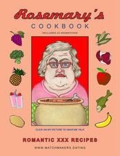 Ebook cover: ROSEMARY'S Romantic XXX Recipes