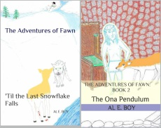 Ebook cover: The Adventures of Fawn--Books 1 & 2 set-'Til the Last Snowflake Falls and The Ona Pendulum