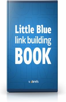 Ebook cover: Little Blue link building BOOK