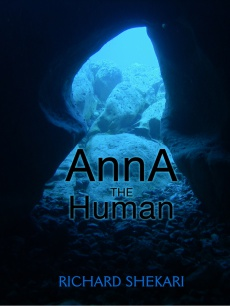 Ebook cover: Anna the Human