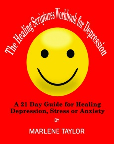 Ebook cover: The Healing Scriptures Workbook for Depression