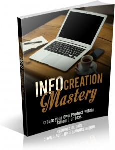 Ebook cover: INFO CREATION MASTERY