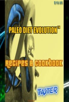 Ebook cover: Paleo Diet Evolution™ Recipes & Cookbook Taster