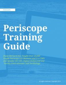 Ebook cover: Periscope 101