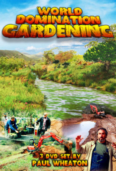 Ebook cover: World Domination Gardening