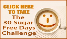 Ebook cover: 30 Sugar Free Days Challenge