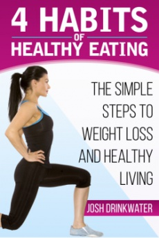 Ebook cover: 4 habits of healthy eating