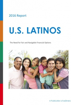 Ebook cover: U.S. Latinos: The Need for Fair and Navigable Financial Options