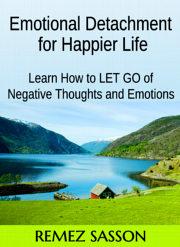 Ebook cover: Emotional Detachment for Happier Life