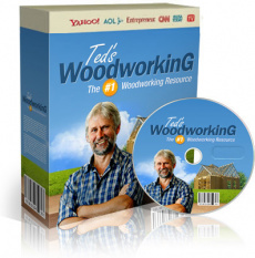 Ebook cover: 16,000 woodworking plans
