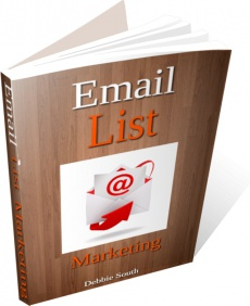Ebook cover: Email List Marketing