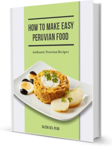 Ebook cover: How to Make Easy Peruvian Food