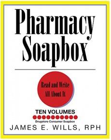 Ebook cover: Pharmacy Soapbox