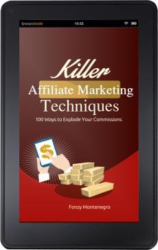 Ebook cover: Killer Affiliate Marketing Techniques