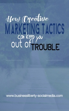 Ebook cover: How Creative Marketing Tactics Can Keep You Out of Trouble