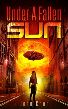 Ebook cover: Under a Fallen Sun