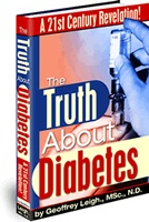 Ebook cover: The Truth About Diabetes