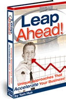 Ebook cover: Leap Ahead
