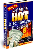 Ebook cover: How To Create Hot Information Products!