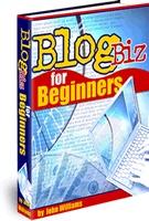 Ebook cover: Blog Biz for Beginners