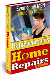 Ebook cover: Handywoman's Home Repairs