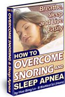 Ebook cover: How To Overcome Snoring and Sleep Apnea