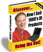 Ebook cover: How I Sell Thousands of Products From Home Using the Net