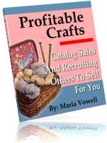 Ebook cover: Profitable Crafts v4