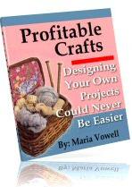 Ebook cover: Profitable Crafts v3