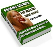 Ebook cover: Organic Secrets