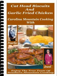Ebook cover: Cat Head Biscuits And Garlic Fried Chicken