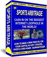 Ebook cover: SPORTS ARBITRAGE