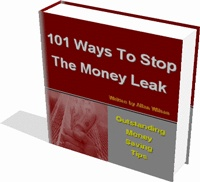 Ebook cover: 101 Ways To Stop The Money Leak