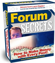 Ebook cover: Forum Secrets