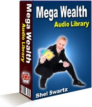 Ebook cover: Mega-Wealth Audio Library