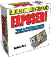 Ebook cover: Autoresponder Secrets EXPOSED